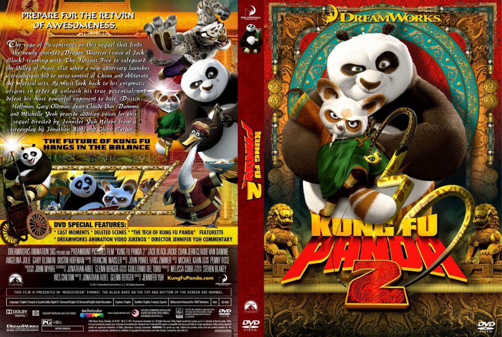 Kung Fu Panda 2 DVD Cover