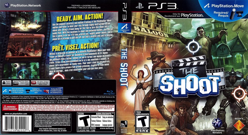 The Shoot DVD English French NTSC f