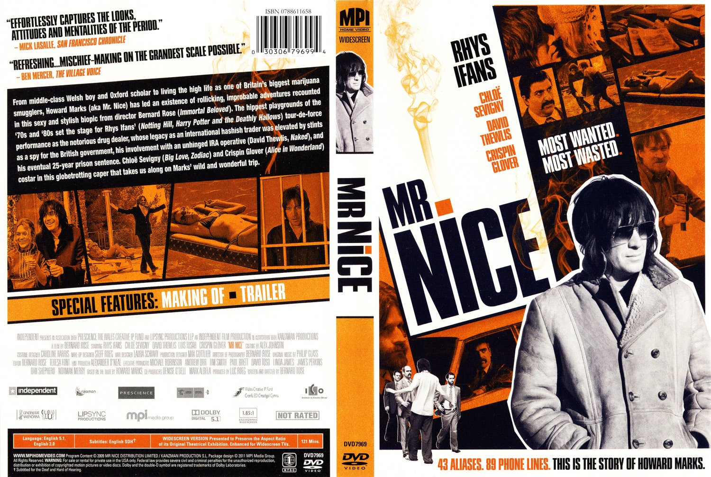 Mr. Nice - Movie DVD Scanned Covers - Mr Nice :: DVD Covers