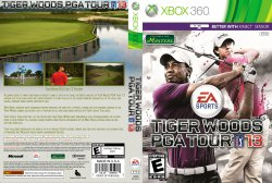 Tiger Woods PGA Tour 13 DVD NTSC Custom f