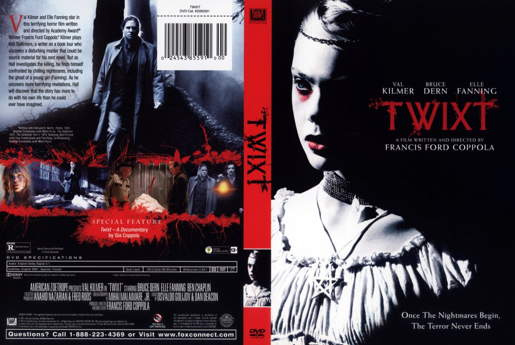 Twixt - Movie DVD Scanned Covers - twixt - front :: DVD Covers